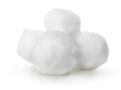 Balls of snow