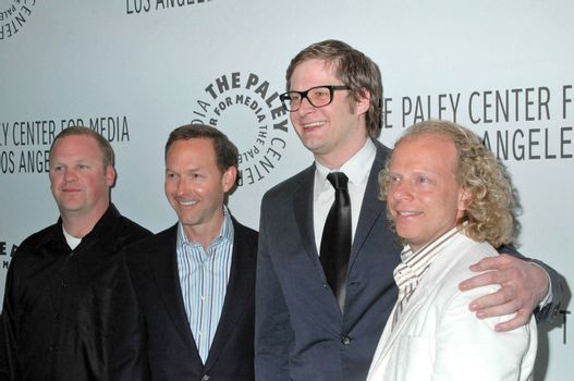 Peter Ocko and Dan Jinks with Bryan Fuller and Bruce Cohen /ImageCollect