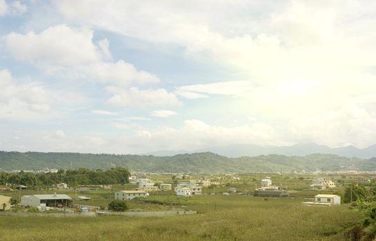 Landscape of rural