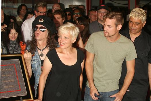 Don Bolles and Lorna Doom with Shane West and Pat Smear /ImageCollect