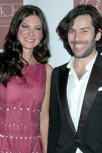 Rochelle Gores and Alexis Mabille at the Grand Opening of Arcade Boutique. Arcade Boutique, Los Angeles, CA. 10-23-08/ImageCollect