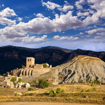 Esco in Huesca Aragon Pyrenees of Spain