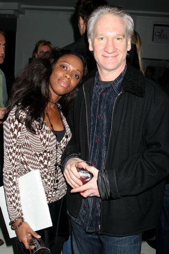 Charmaine Blake and Bill Maher /ImageCollect