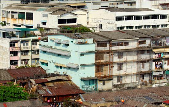 Slum in Thailand