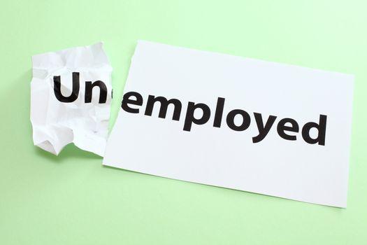 Unemployed change to Employed