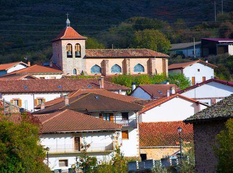 Oroz Betelu in Navarra Pyrenees of Spain