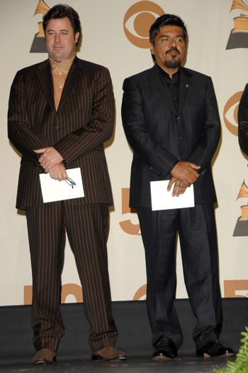 Vince Gill and George Lopez /ImageCollect