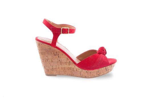 Red women shoe