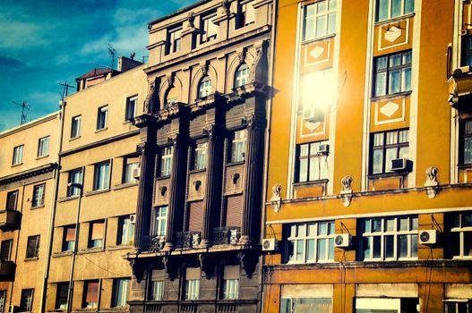 Old Belgrade buildings