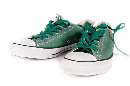 Sneakers pair