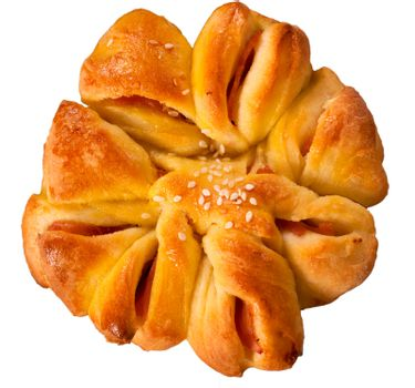 Pastry isolated