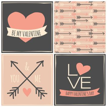 Valentine's Day Cards Collection