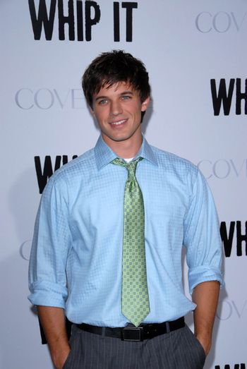 Matt Lanter at the Los Angeles Premiere of 'Whip It'. Grauman's Chinese Theatre, Hollywood, CA. 09-29-09/ImageCollect