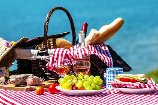 picnic near a lake