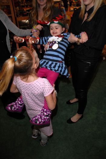 Guests at the launch of Kylie Bax and Spiros Poros' Moro Moro Kids Boot Collection at Ron Robinson Lifesize, Fred Segal, Santa Monica, CA. 12-11-10/ImageCollect