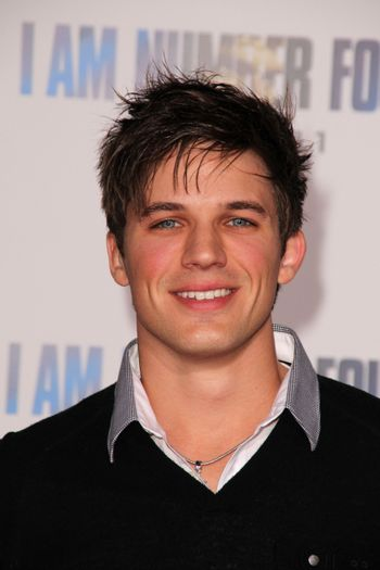 """Matt Lanter at the """"I Am Number Four"""" World Premiere, Village Theater, Westwood, CA. 02-09-11/ImageCollect"""