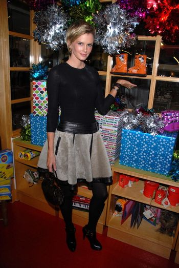Kylie Bax at the launch of Kylie Bax and Spiros Poros' Moro Moro Kids Boot Collection at Ron Robinson Lifesize, Fred Segal, Santa Monica, CA. 12-11-10/ImageCollect