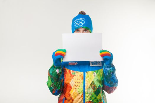 Presentation of the official uniforms Sochi 2014
