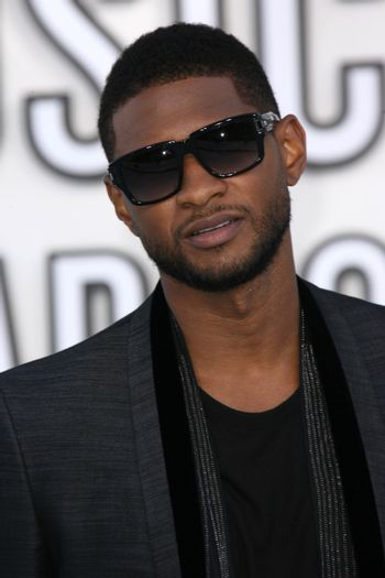 Usher  at the 2010 MTV Video Music Awards, Nokia Theatre L.A. LIVE, Los Angeles, CA. 08-12-10