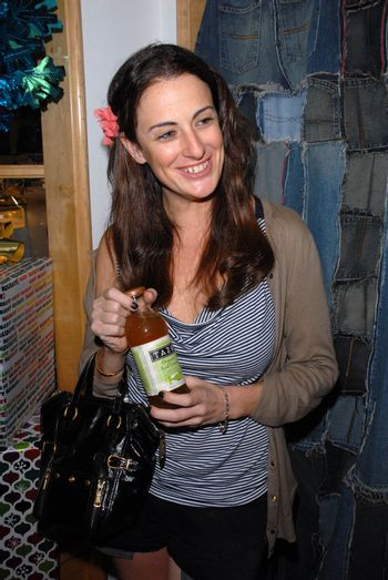 Guest with Tazo Tea at the launch of Kylie Bax and Spiros Poros' Moro Moro Kids Boot Collection at Ron Robinson Lifesize, Fred Segal, Santa Monica, CA. 12-11-10/ImageCollect