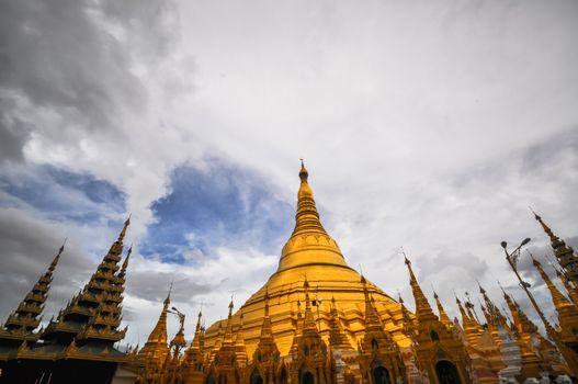 Yangon Myanmar Shwedagon Pagoda Temple