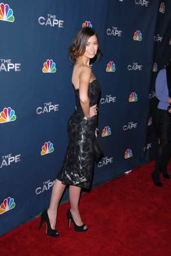 "Summer Glau  at the premiere party for NBC's ""The Cape"" at tMusic Box Theater, Hollywood, CA. 01-04-11"