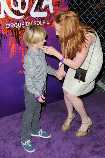 Anne Heche and her son Homer /ImageCollect