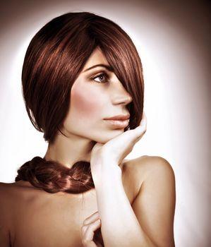 Elegant hairdo