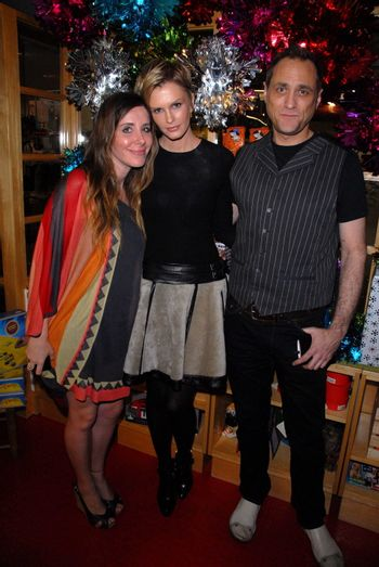 Kylie Bax and friends at the launch of Kylie Bax and Spiros Poros' Moro Moro Kids Boot Collection at Ron Robinson Lifesize, Fred Segal, Santa Monica, CA. 12-11-10/ImageCollect