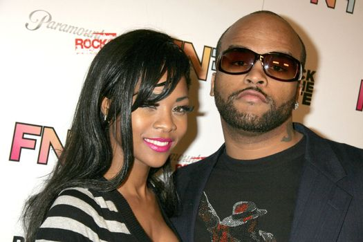 """Ricky Romance and Ms. Williams at the """"Friends and Family"""" Grammy Event, Paramount Studios, Hollywood, CA. 01-29-10"""
