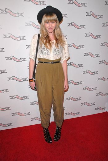 Krystal Simpson at the Odd Molly Flagship Store Opening, Odd Molly, Los Angeles, CA. 03-19-10/ImageCollect