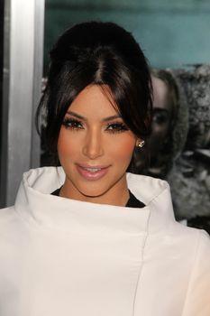"Kim Kardashian  at the ""Unknown"" Los Angeles Premiere, Village Theater, Westwood, CA. 02-16-11"