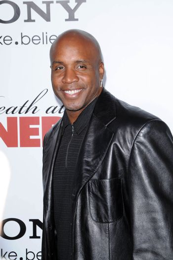 """Barry Bonds at the """"Death at a Funeral"""" World Premiere, Arclight, Hollywood, CA. 04-12-10/ImageCollect"""