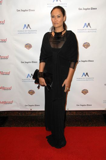 Tia Carrere at the Inaugural Museum Of Tolerance International Film Festival Gala Honoring Clint Eastwood, Museum Of Tolerance, Los Angeles, CA. 11-14-10/ImageCollect