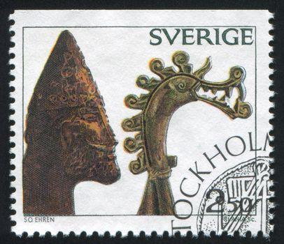 Viking Head Of Carved Bone Royalty Free Stock Image Yayimages Royalty Free Stock Photos And Vectors