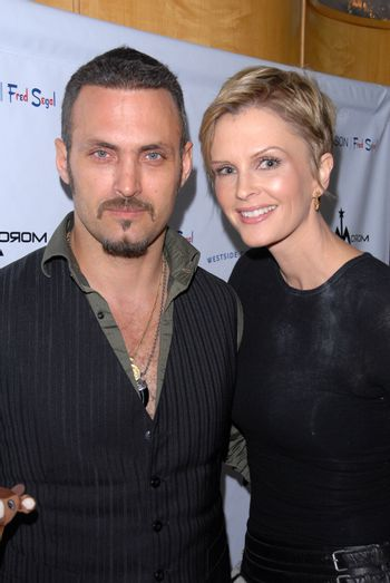 Spiros Poros, Kylie Bax at the launch of Kylie Bax and Spiros Poros' Moro Moro Kids Boot Collection at Ron Robinson Lifesize, Fred Segal, Santa Monica, CA. 12-11-10/ImageCollect
