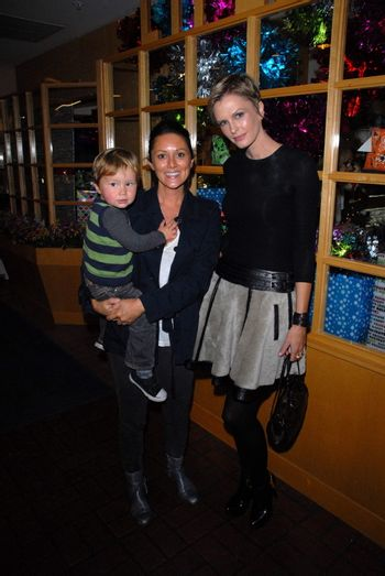 Celeste Iuul and Kylie Bax at the launch of Kylie Bax and Spiros Poros' Moro Moro Kids Boot Collection at Ron Robinson Lifesize, Fred Segal, Santa Monica, CA. 12-11-10/ImageCollect