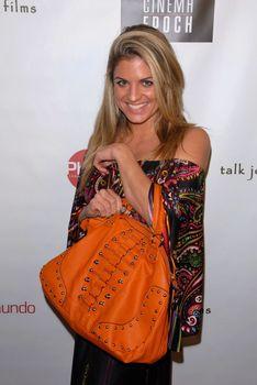 Bridgetta Tomarchio with Halo Bag /ImageCollect
