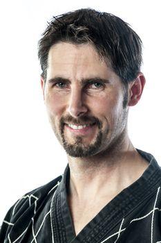 Portrait martial arts master