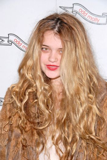 Sky Ferreira at the Odd Molly Flagship Store Opening, Odd Molly, Los Angeles, CA. 03-19-10/ImageCollect