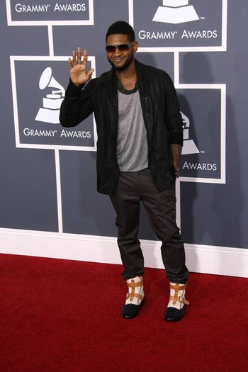Usher  at the 53rd Annual Grammy Awards, Staples Center, Los Angeles, CA. 02-13-11