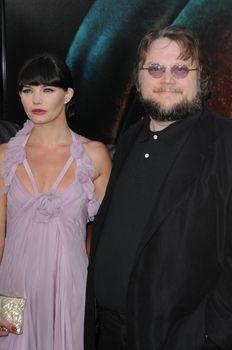 Delphine Chaneac and Guillermo Del Toro /ImageCollect