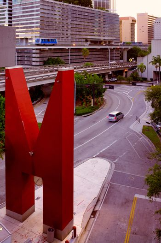 Sculpture in Downtown Miami