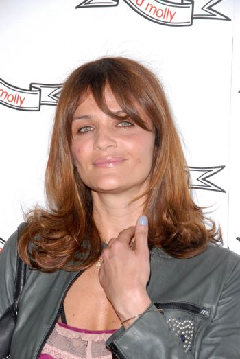 Helena Christensen at the Odd Molly Flagship Store Opening, Odd Molly, Los Angeles, CA. 03-19-10/ImageCollect