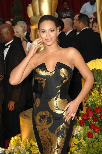 Beyonce Knowles at the 81st Annual Academy Awards. Kodak Theatre, Hollywood, CA. 02-22-09