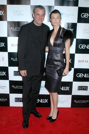 Danny Huston And Lyne Renee At The Britweek Designer Of The Year Fashion Show And Awards Presented By Genlux Magazine Pacific Design Center West Hollywood Ca 05 02 09 Imagecollect Royalty Free Stock Image