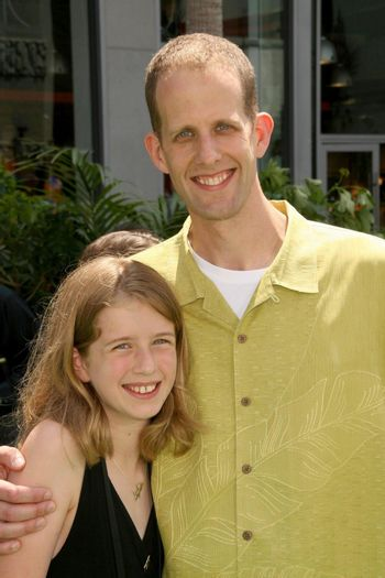 Elie Docter and Pete Docter at the World Premiere of 'Up'. El Capitan Theatre, Hollywood, CA. 05-16-09/ImageCollect