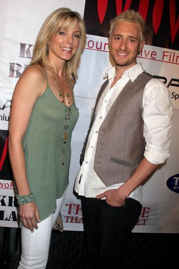 Marla Maples and Paul Ashton at the Opening of 'The Abstract Art of Kris Black' benefitting Survivors of Sexual Abuse. Stanley's Restaurant and Bar, Sherman Oaks, CA. 05-21-09/ImageCollect