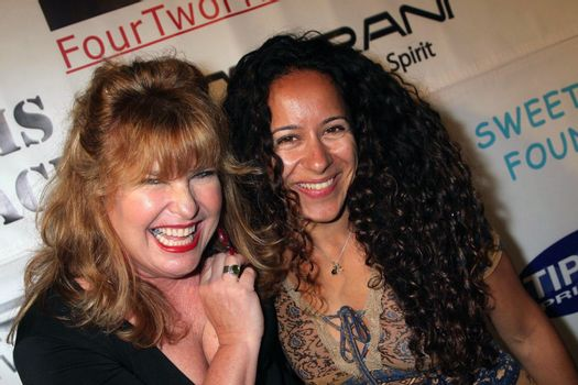 Amy Lyndon and Met at the Opening of 'The Abstract Art of Kris Black' benefitting Survivors of Sexual Abuse. Stanley's Restaurant and Bar, Sherman Oaks, CA. 05-21-09/ImageCollect