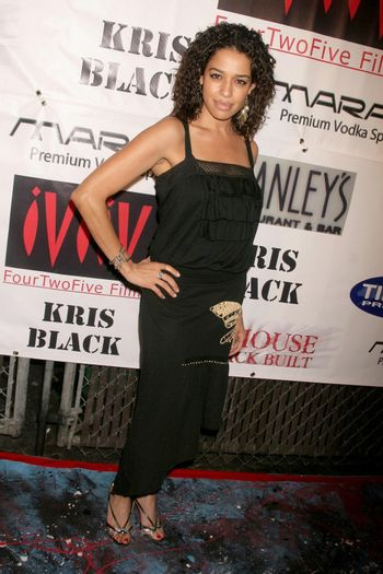 Ogy Durham at the Opening of 'The Abstract Art of Kris Black' benefitting Survivors of Sexual Abuse. Stanley's Restaurant and Bar, Sherman Oaks, CA. 05-21-09/ImageCollect